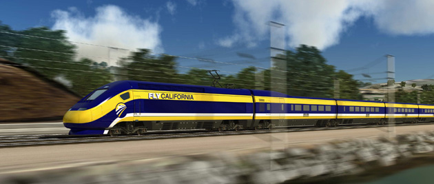 The high-speed train will connect San Francisco and Los Angeles. (Photo credit: California High-Speed Rail Authority)