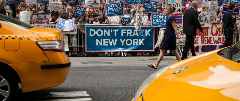 New York governor Andrew Cuomo banned fracking in the state of New York last week. Environmentalists are applauding the move, but landowners are concerned about the lost revenues. (Photo credit: CREDO, flickr)