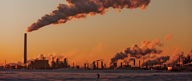 Fort McMurray, ground zero for Canada's tar sands industry, has been hard hit by sinking oil prices, with oil workers being laid off by the hundreds. (Photo credit: Kris Krüg, flickr)