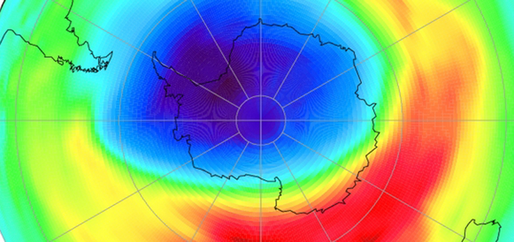 Ozone Hole Shows Signs Of Healing Successful Green