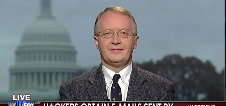 Sources close to the Trump campaign have said that climate change sceptic Myron Ebell will be appointed the new head of the EPA. (Image credit: youtube.com screenshot)
