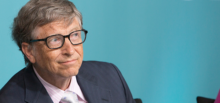 Bill Gates, Jeff Bezos and other billionaires have established an investment fund to pump USD 1 billion in renewable energy. (Image credit: Simone D. McCourtie/World Bank)