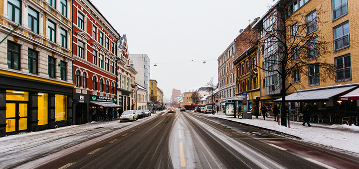 Oslo banned diesel cars from the city's streets on Tuesday because of the heavy winter smog. (Image credit: Leo Hidalgo, flickr)